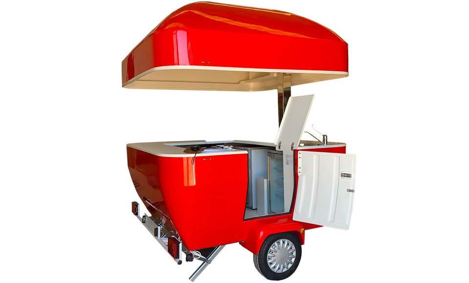 Pokretno vozilo sa hranom