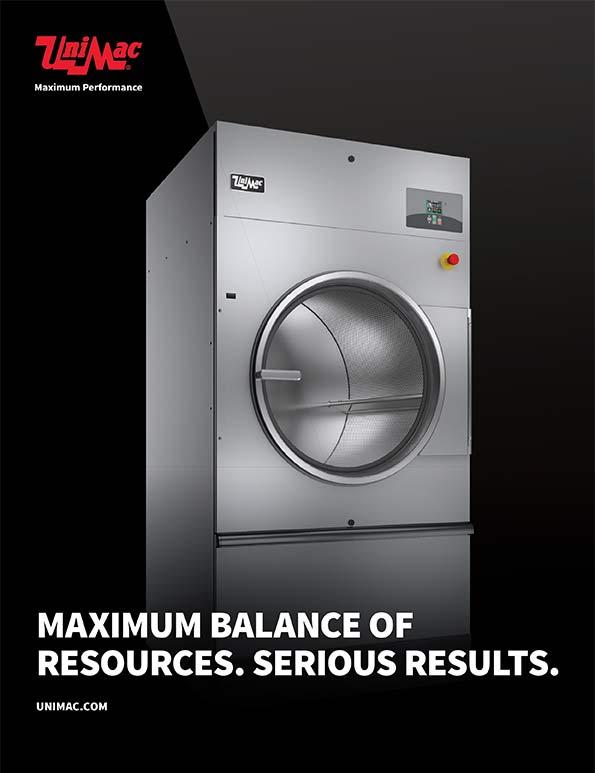 Profesionalna UniMac mašina za sušenje veša